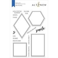 Altenew Geo Frames Stamp Set ALT2476