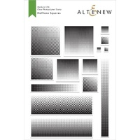 Altenew Halftone Squares Stamp Set ALT2479