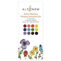 Altenew Artist Markers 12 Colour Primary Essential Set