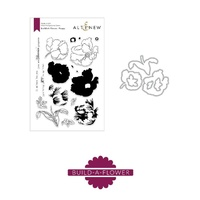 Altenew Build-A-Flower Poppy Die and Stamp Bundle