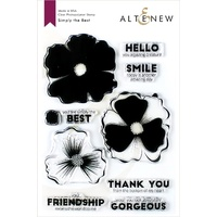Altenew Simply The Best Stamp Set