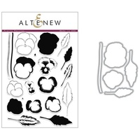 Altenew Pretty Pansies Die and Stamp Bundle