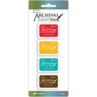 Wendy Vecchi Archival Mini Ink Pad (Kit 1) 4 Colours