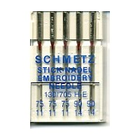 Schmetz Embroidery Assorted 75/11 and 90/14