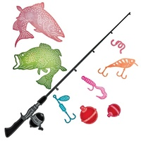 Cheery Lynn Designs B648 Fishing Set Dies