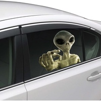 Joy Riders Car Window Cling Alien