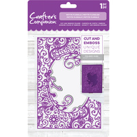 Crafter's Companion Cut and Emboss Folder 5x7 Petite Florals