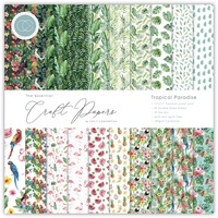 Craft Consortium Double-Sided Paper Pad 12X12 30/Pkg Tropical Paradise
