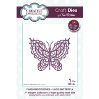 Sue Wilson Dies Finishing Touches Lace Butterfly Die CED1484