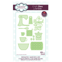Sue Wilson Dies Necessities Collection Baked with Love CED23002