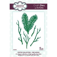 Sue Wilson Dies Festive Collection Pine Bough CED3015
