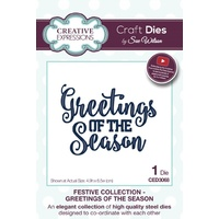 Sue Wilson Dies Festive Collection Greetings of the Season CED3068