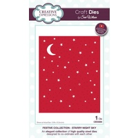 Sue Wilson Dies Festive Collection Starry Night Sky CED3084