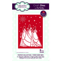 Sue Wilson Dies Festive Collection  Three Wise Men CED3089