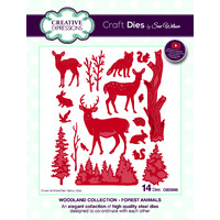 Sue Wilson Dies Woodland Collection  Forest Animals CED3095