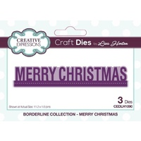Lisa Horton Dies Borderline Collection Merry Christmas CEDLH1090