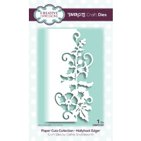 Paper Cuts Collection Die Hollyhock Edger CEDPC1057