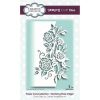 Paper Cuts Collection Die Rambling Rose Edger CEDPC1076