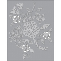 Spellbinders Cut and Emboss Folders Blooming Sprigs CEF-006