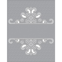 Spellbinders Cut and Emboss Folders Dotted Lace CEF-007