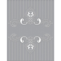 Spellbinders Cut and Emboss Folders Regal Swirl CEF-008