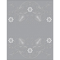 Spellbinders Cut and Emboss Folders Flora Banner CEF-009