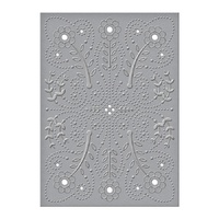 Spellbinders Cut And Emboss Folders Floral Splash CEF-011