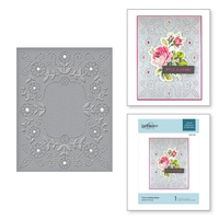 Spellbinders Cut And Emboss Folders Floral Reflections CEF-013