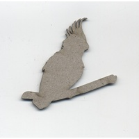 Chipboard Aussie Collection Cockatoo