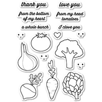 Memory Box Stamp Veggie Good CL5173
