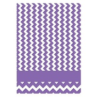 Couture Creations Embossing Folder 5x7 Harmony Collection Chevron