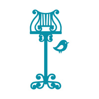 Couture Creations Dies Intricutz Lectern & Bird