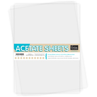 Couture Creations A4 250mic Acetate Sheets (50pk)