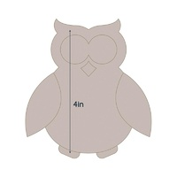 Couture Creations Quilt Essentials Die Applique Owl