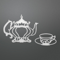 Couture Creations Dies Enchanted Tea Party Tea Set