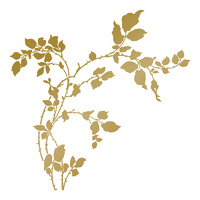 Anna Griffin Hotfoil Stamp Thorny Branches