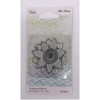 Couture Creations Mini Stamp Le Petit Traditional Bloom