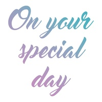 Couture Creations Mini Stamp Le Petit Special Day