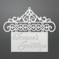 Couture Creations Die Hanging Greetings Decorative Die