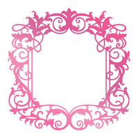 Couture Creations Hotfoil Stamp Intricate Border