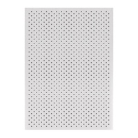 Couture Creations Embossing Folder 5x7 Swiss Dots