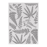 Couture Creations Embossing Folder 5x7 Ferns