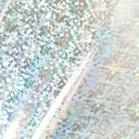 GoPress Silver Foil (Iridescent Sequin Patterned Finish) 120mm x 5m