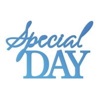 Couture Creations Mini Die Release 1 Special Day Sentiment 1pc