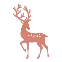 Couture Creations Mini Die Highland Christmas Reindeer