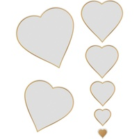 Cut and Foil Die Hotfoil Stamp Nesting Hearts