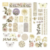 Couture Creations Ephemera Pack Butterfly Garden Set