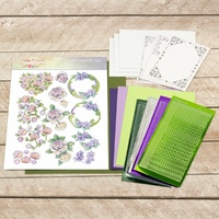 Couture Creations Dots & Do 3D Push Out Kit Vintage Flowers Decoupage Set