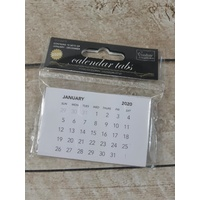 Couture Creations Calendar Tabs 10 Pack 2020