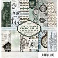 6x6 Couture Creations Gentlemans Emporium Paper Pad